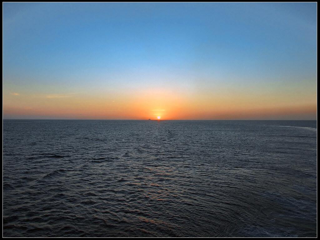 Traghetti Piombino Golfo Aranci   Uno splendido tramonto nel golfo degli aranci