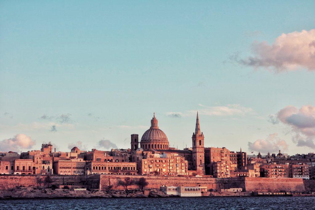 Traghetti Pozzallo Malta | Vista della Valletta, capitale di Malta dal mare