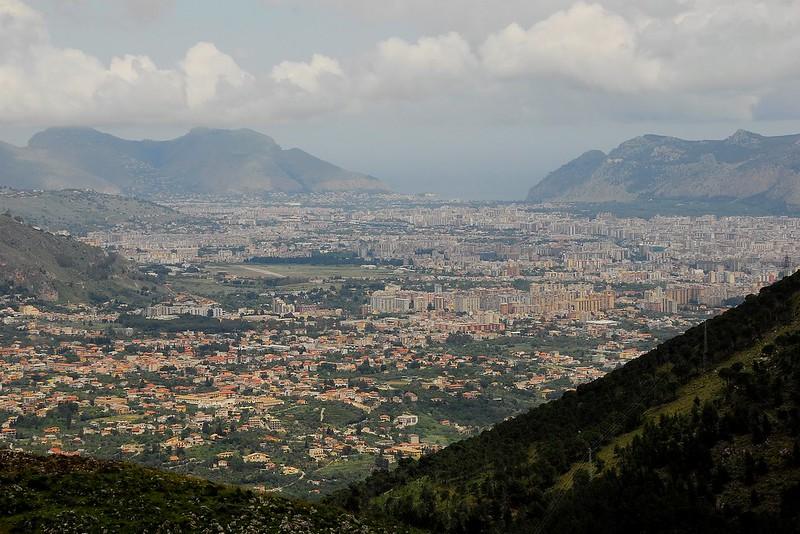 Traghetti Cagliari Palermo | Vista di Palermo dall'alto
