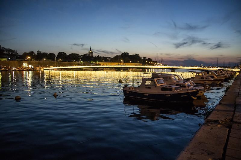 Traghetti Ancona Zara | Porto con barche a Zara